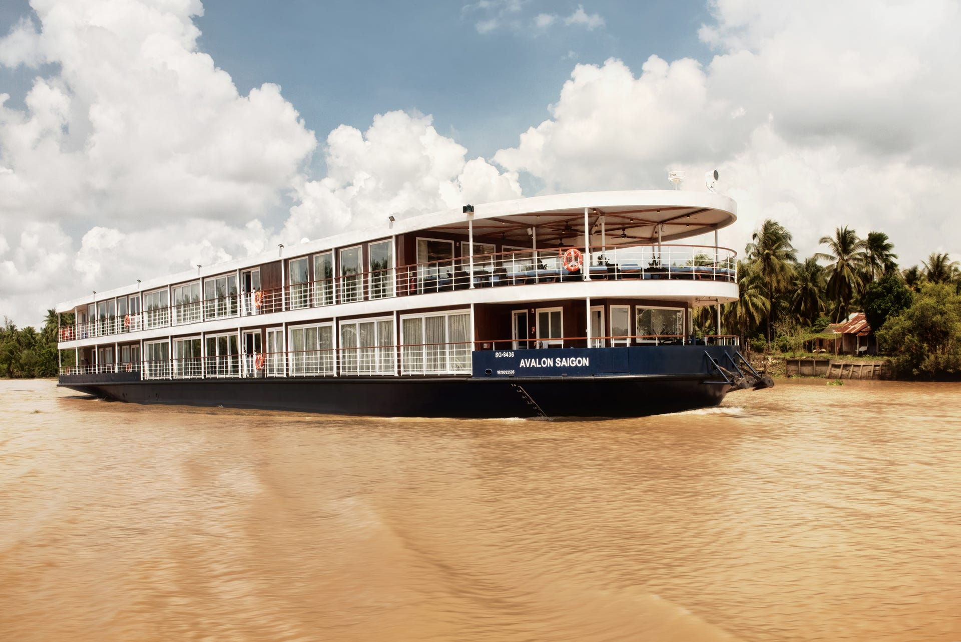 Avalon Saigon: New Avalon Waterways Mekong River ship in photos