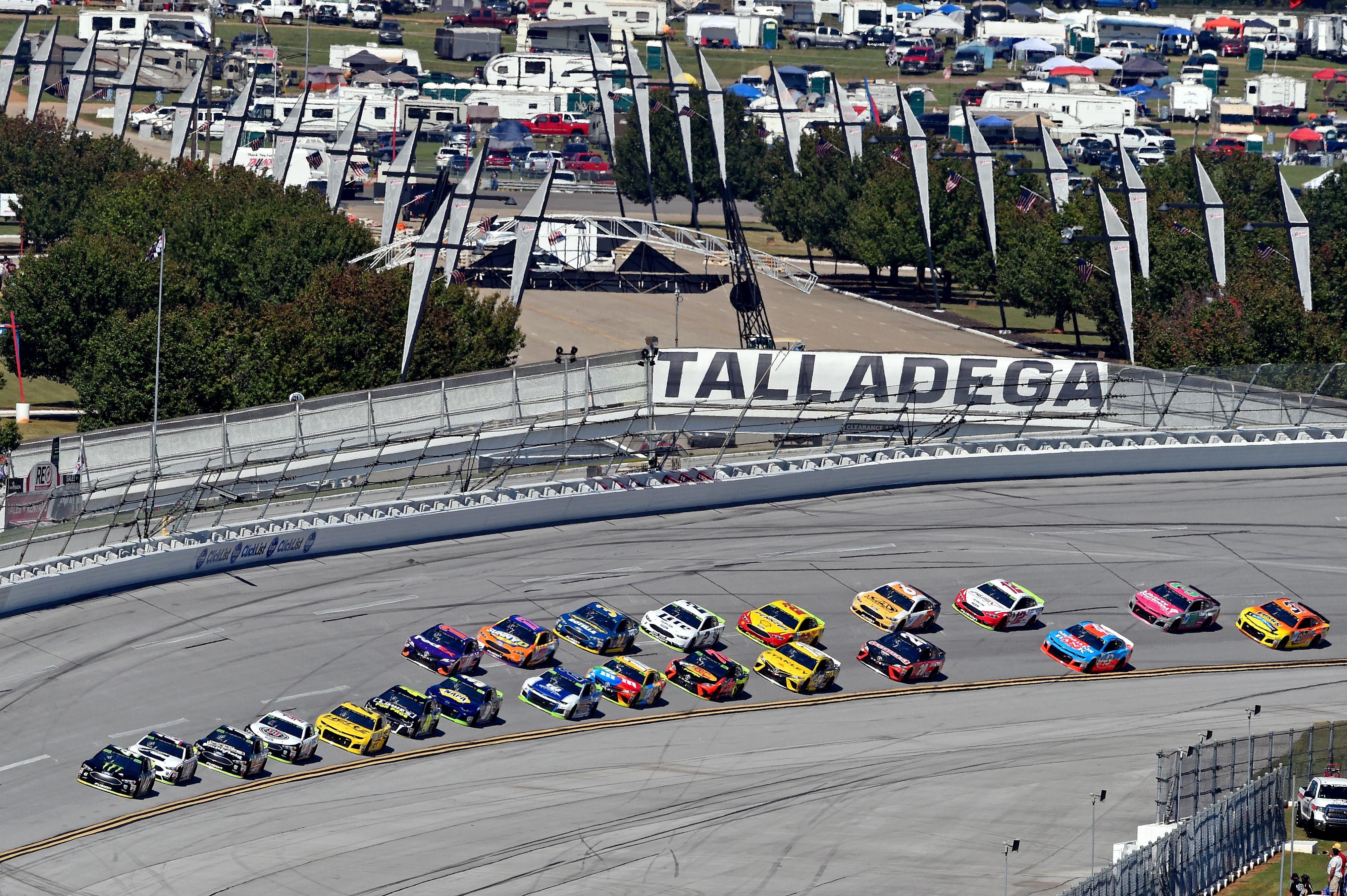 Talladega Race Schedule 2019 What time does the 2019 NASCAR Cup race at Talladega start