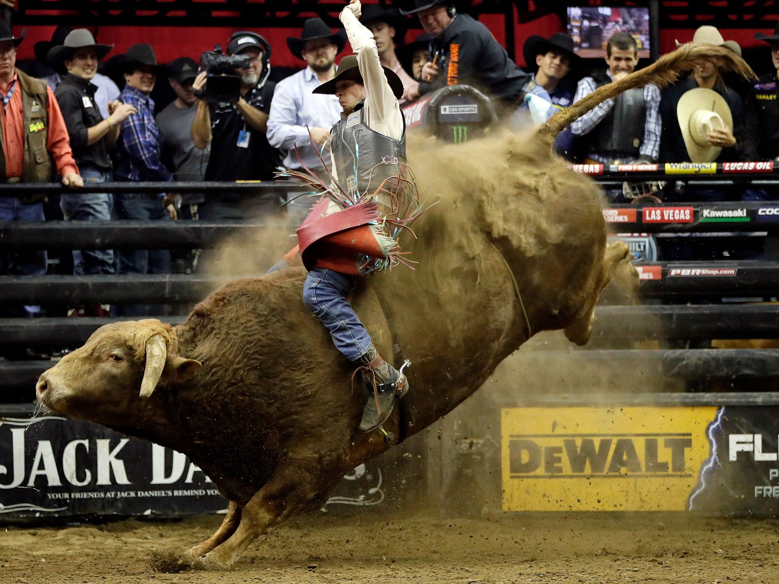 Professional bull rider Mason Lowe, 1994-2019