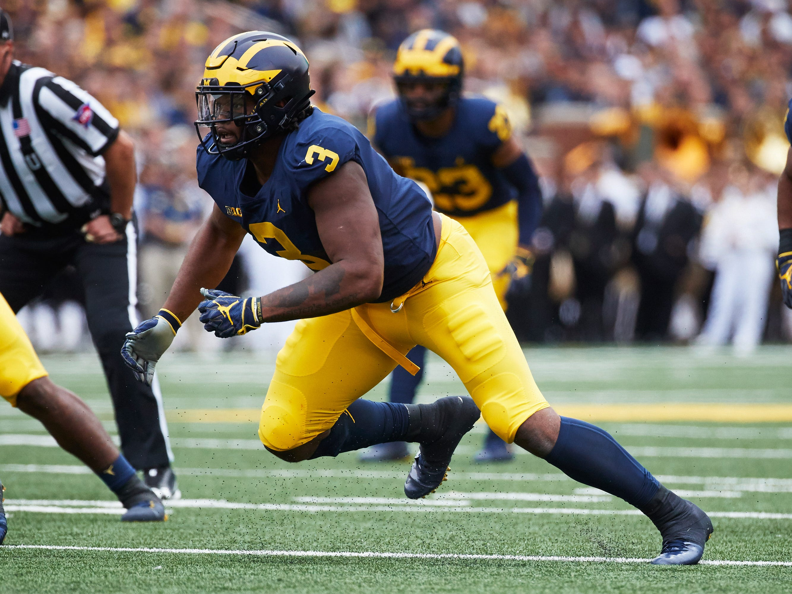 8. Lions — Rashan Gary, DE, Michigan
