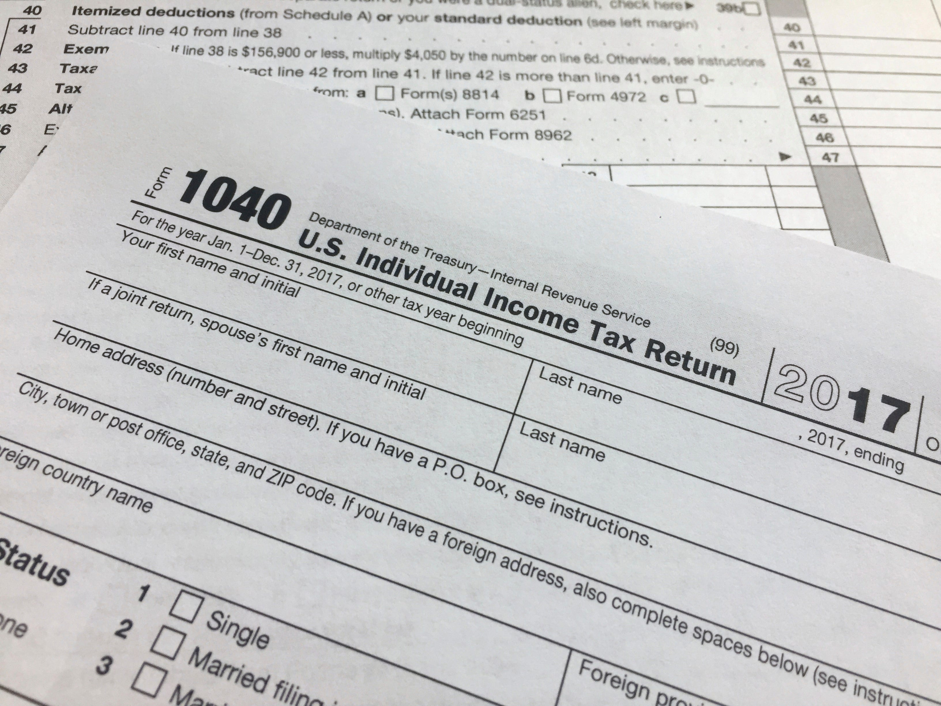 IRS to waive under-withholding penalties for some taxpayers after Trump tax changes