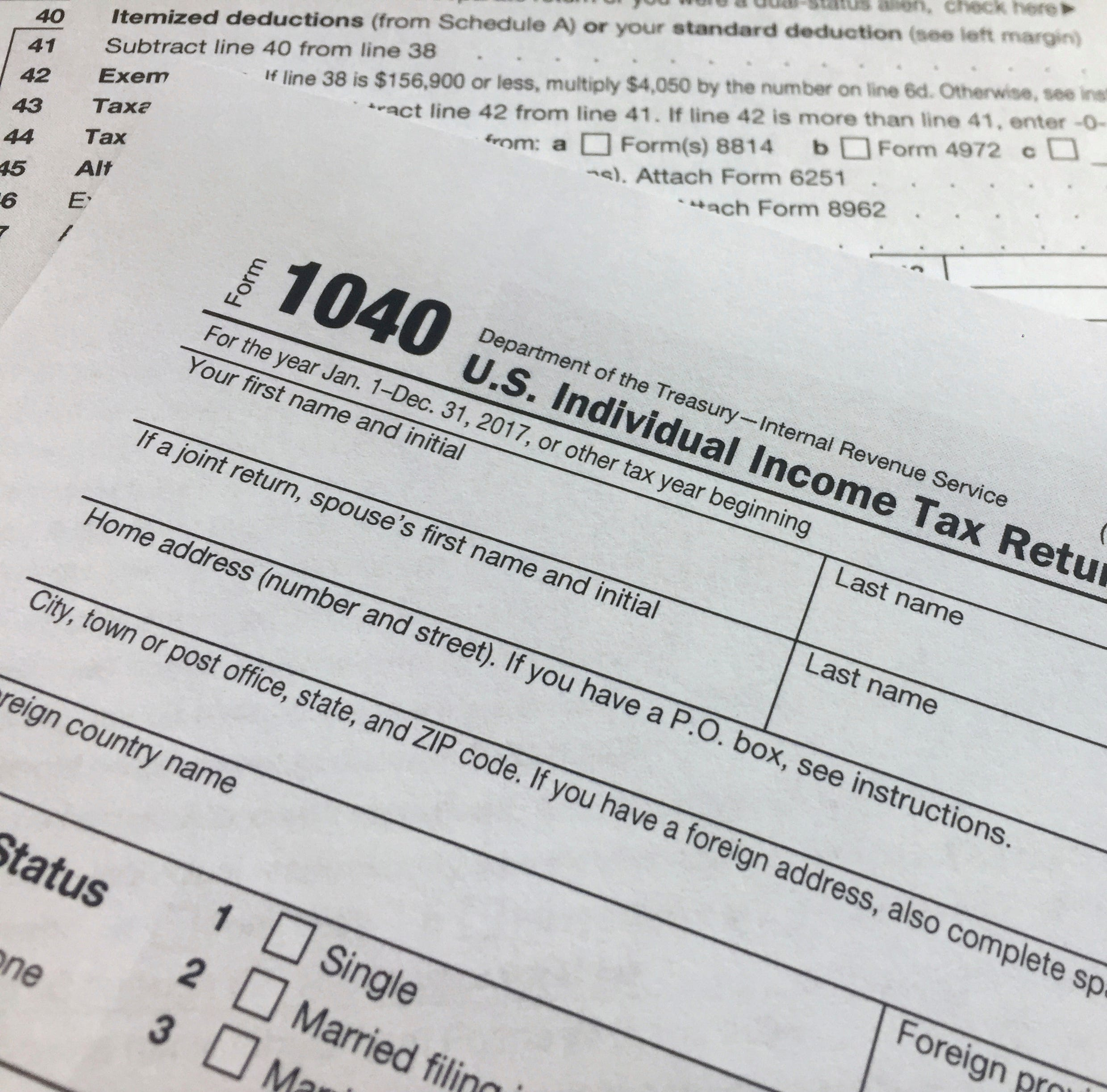 IRS to waive penalties for under-withholding after Trump tax changes