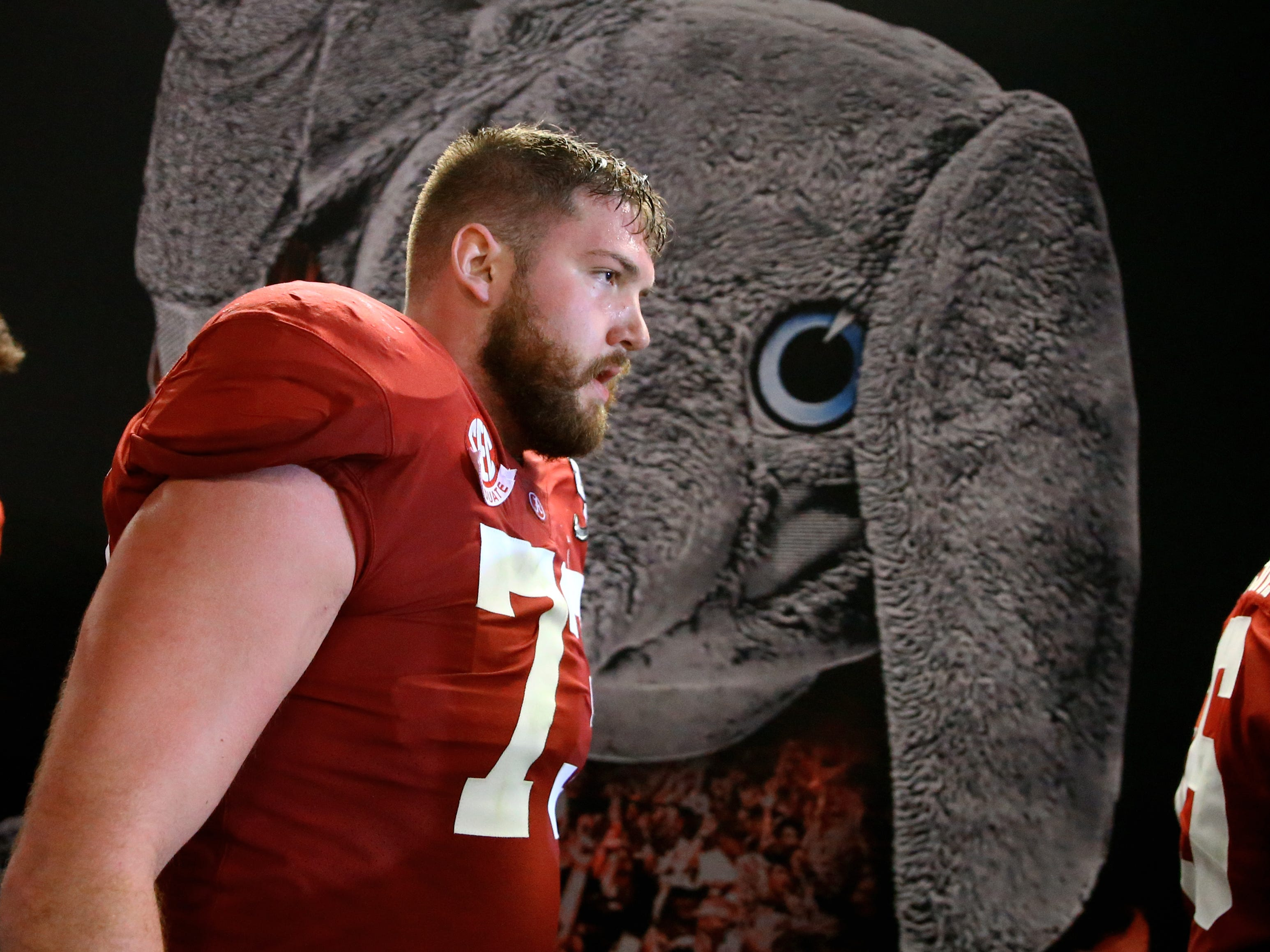 5. Buccaneers — Jonah Williams, OT, Alabama