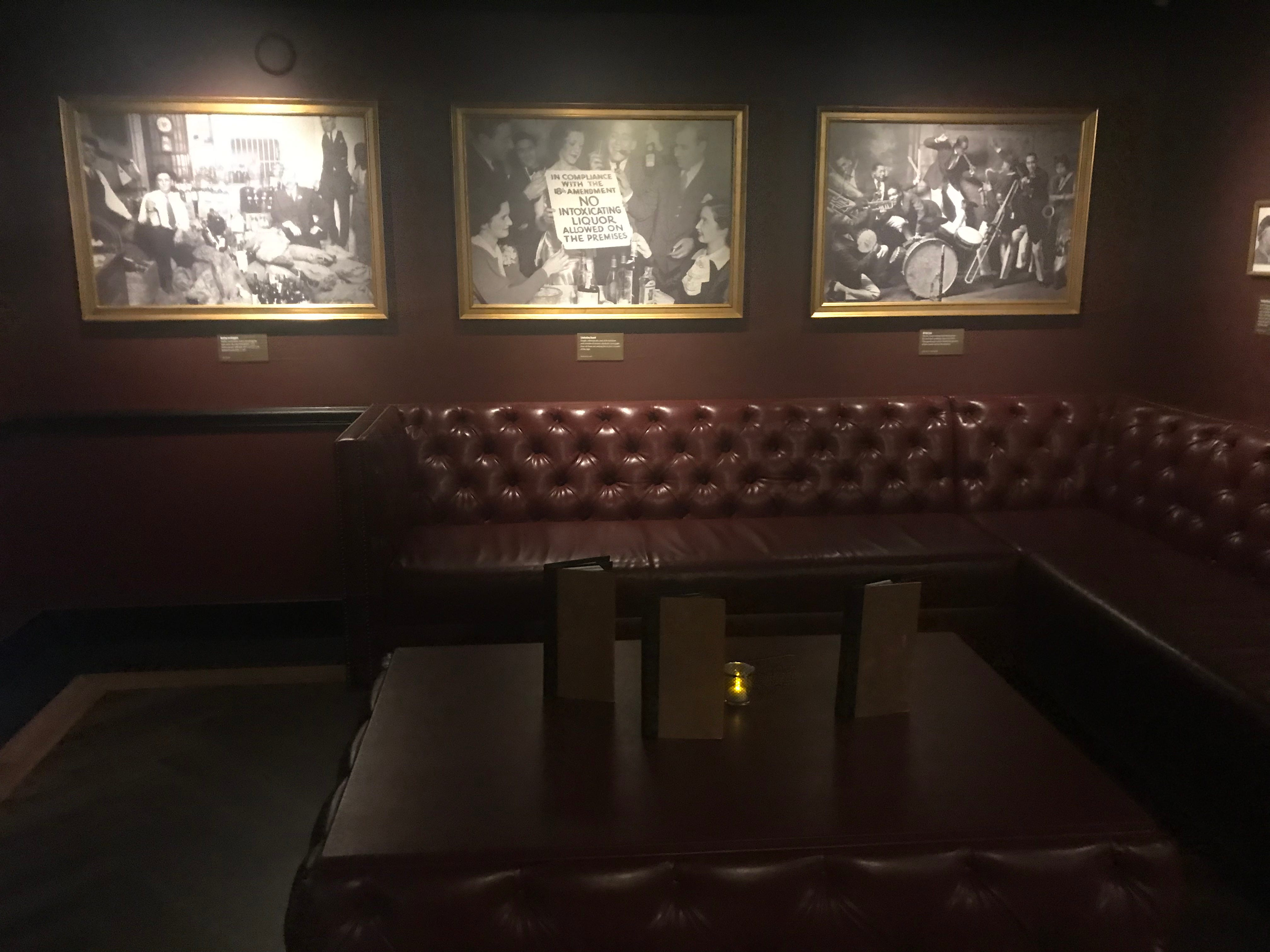 The Underground is a new speakeasy at The Mob Museum in downtown Las Vegas.