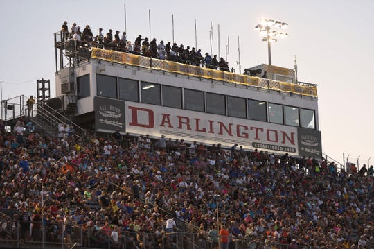 Sept. 1: Bojangles' Southern 500 at Darlington Raceway (6 p.m., NBCSN).