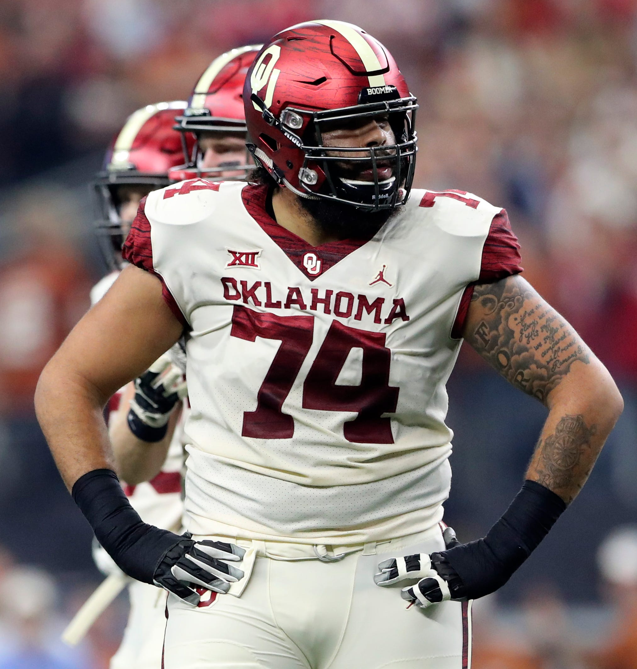 The Giants have met formally with Oklahoma tackle Cody Ford here at the Combine this week.