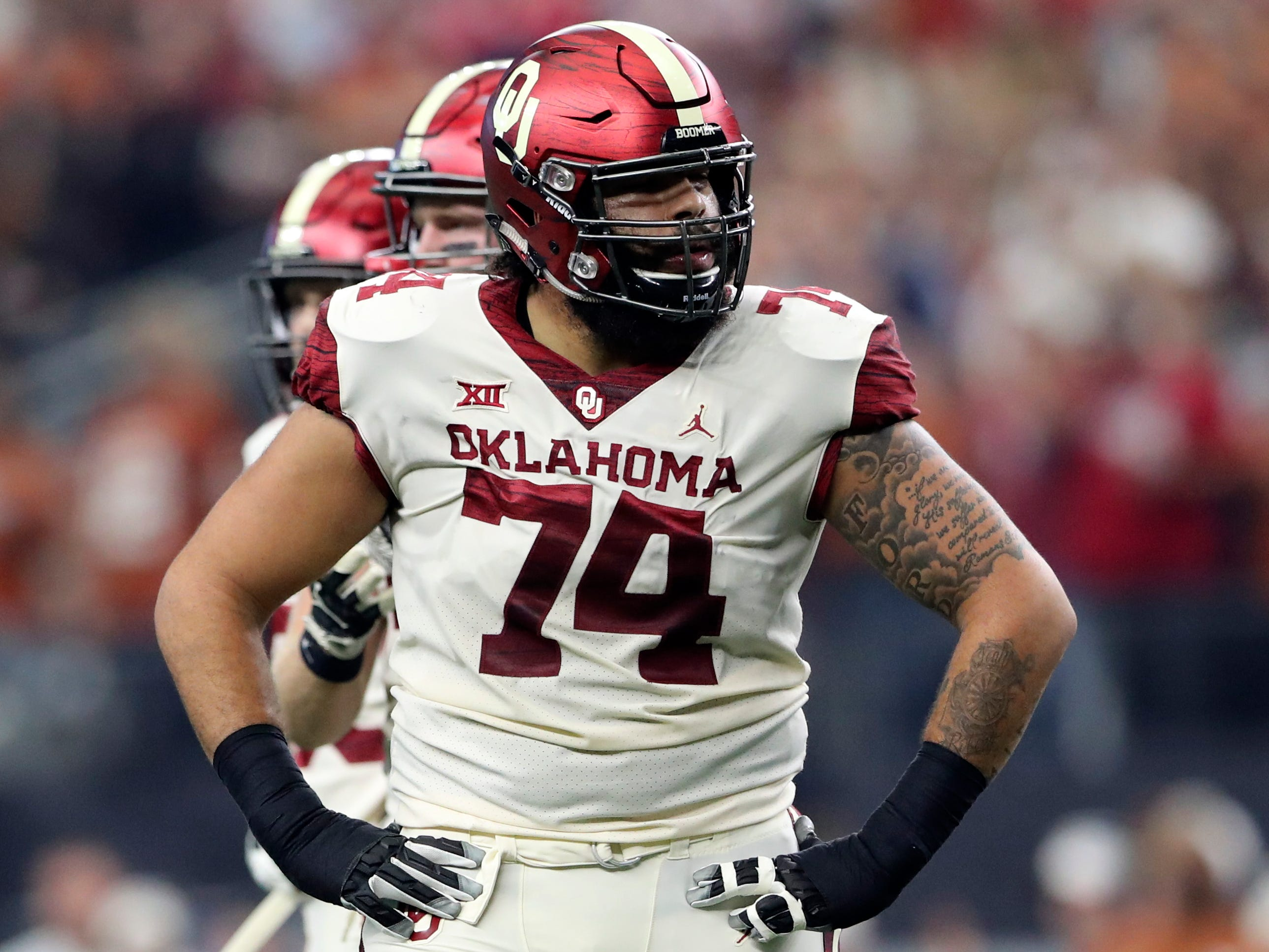 16. Panthers — Cody Ford, OT, Oklahoma