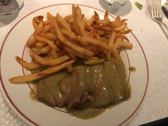 Love steak frites? That's all you can get at this classic French bistro in NYC