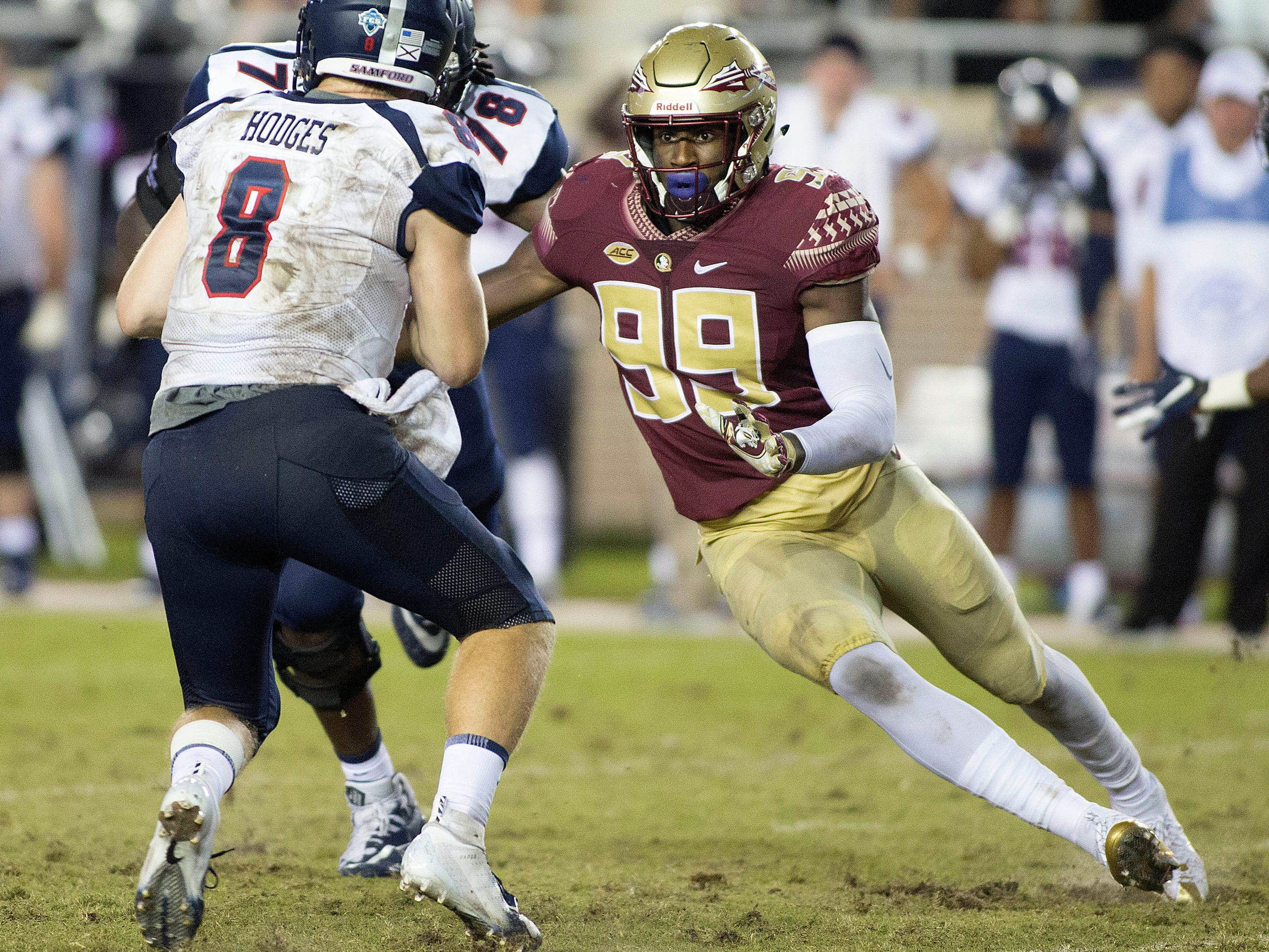 21. Seahawks — Brian Burns, DE, Florida State