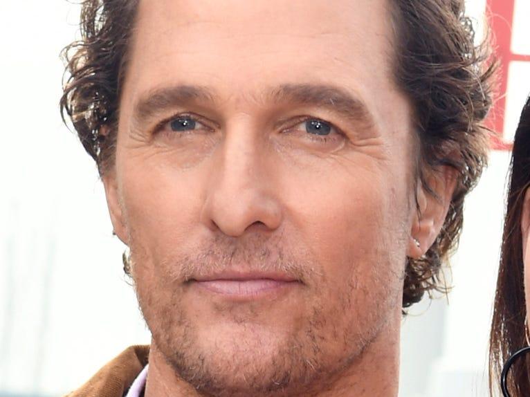 Matthew McConaughey turns 50 on Nov. 4.
