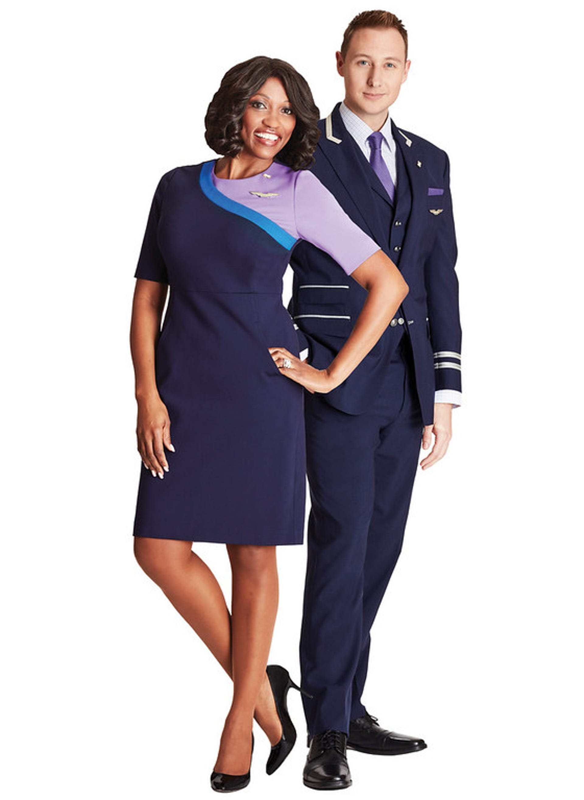 United Airlines unveils look for new employee uniforms