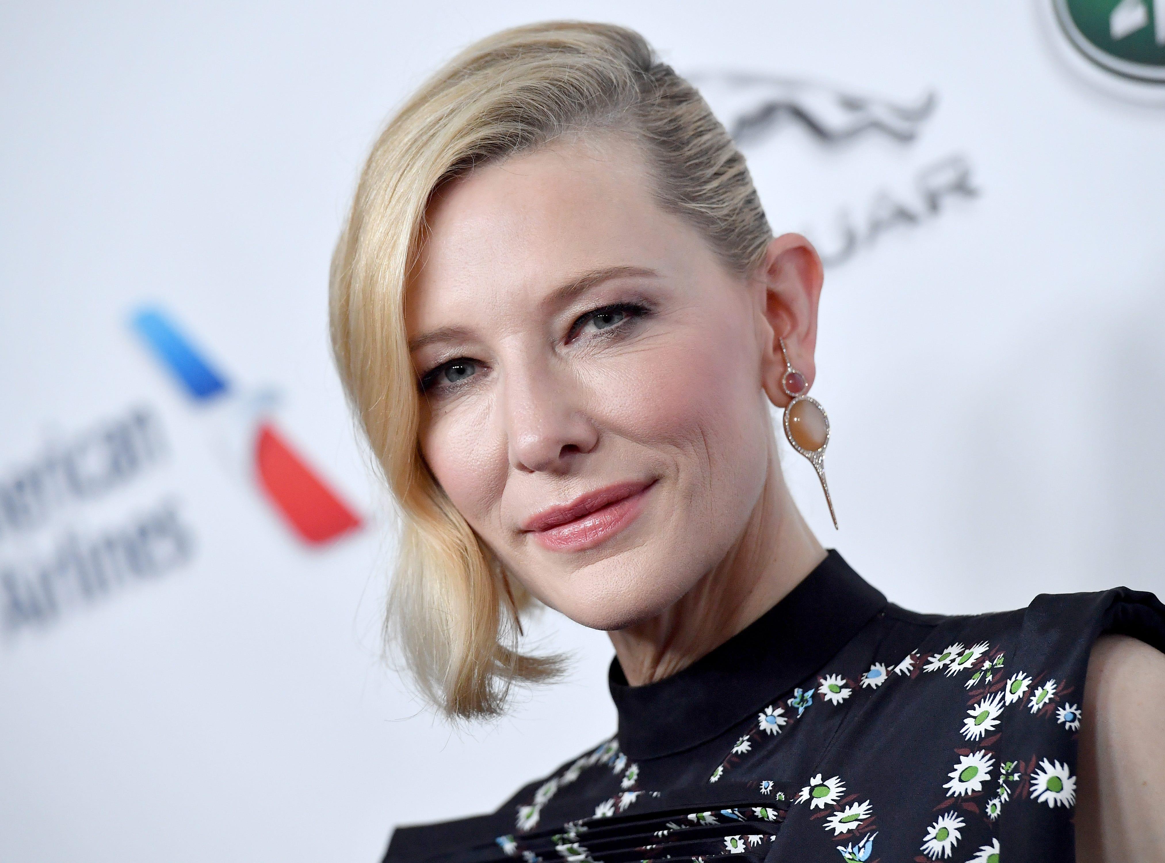 Cate Blanchett turns 50 on May 14.