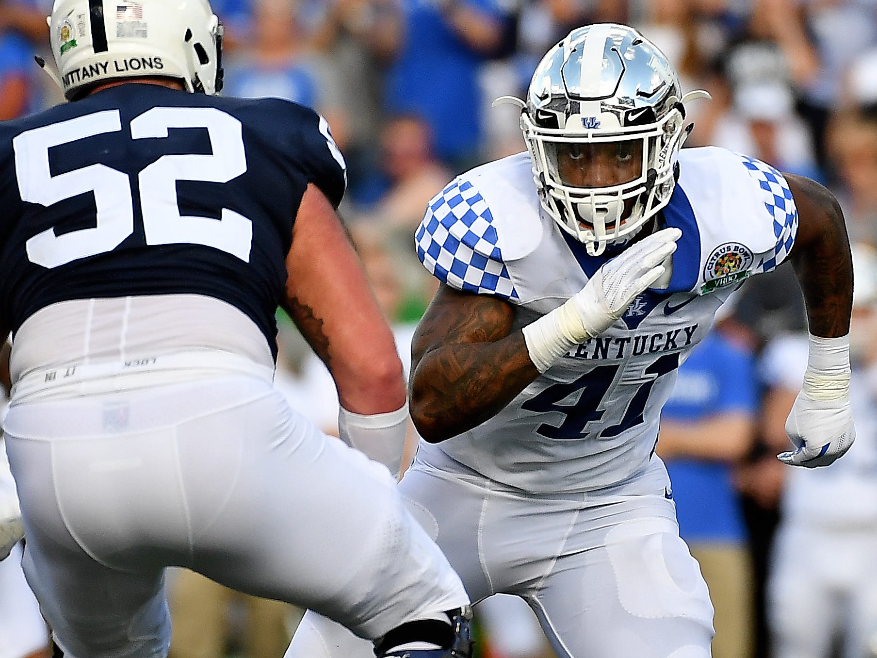 9. Bills — Josh Allen, OLB/DE, Kentucky