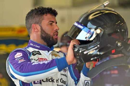 "Darrell ""Bubba"" Wallace finished a career-high second at the 2018 Daytona 500."
