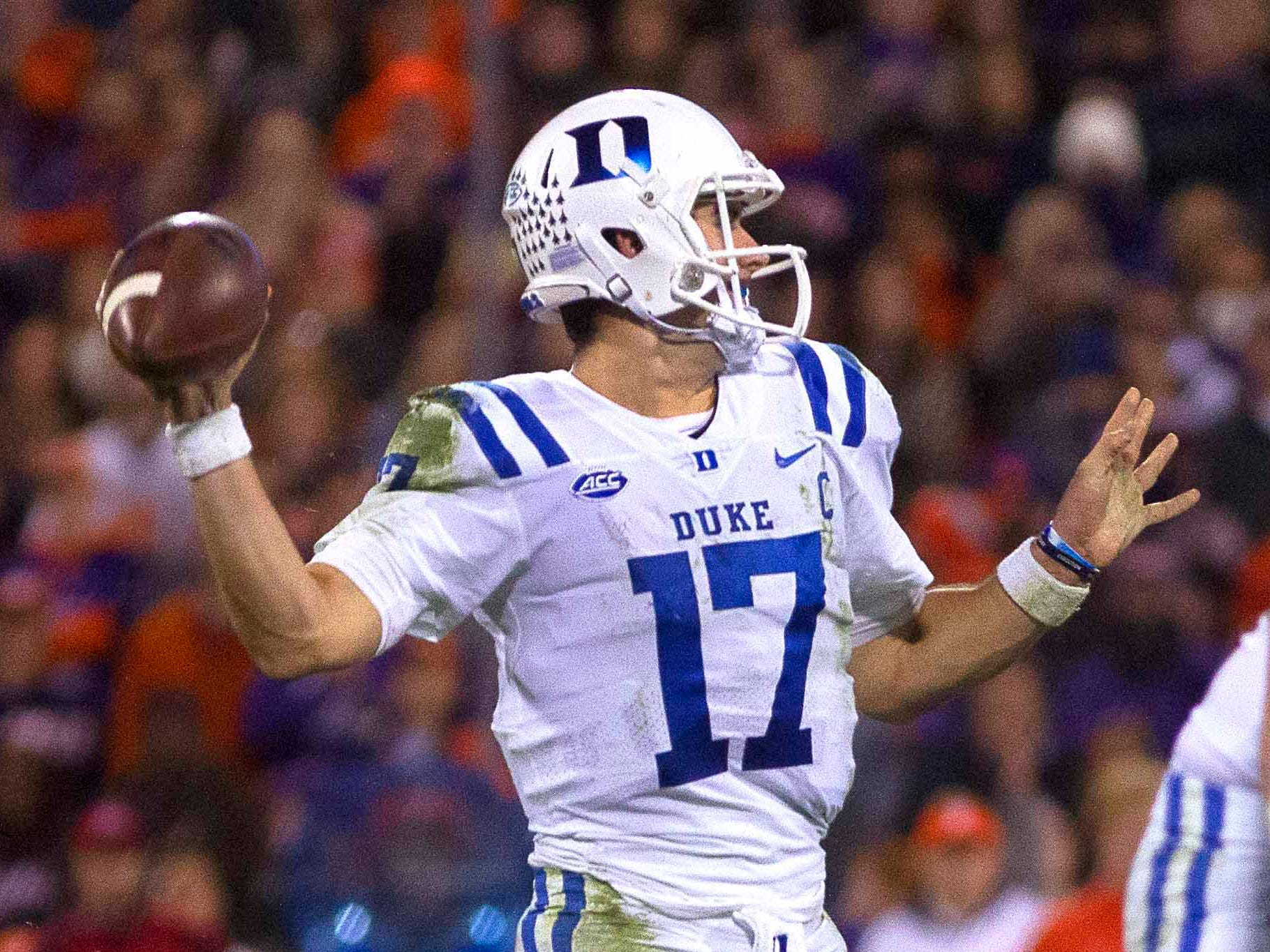 29. Patriots — Daniel Jones, QB, Duke