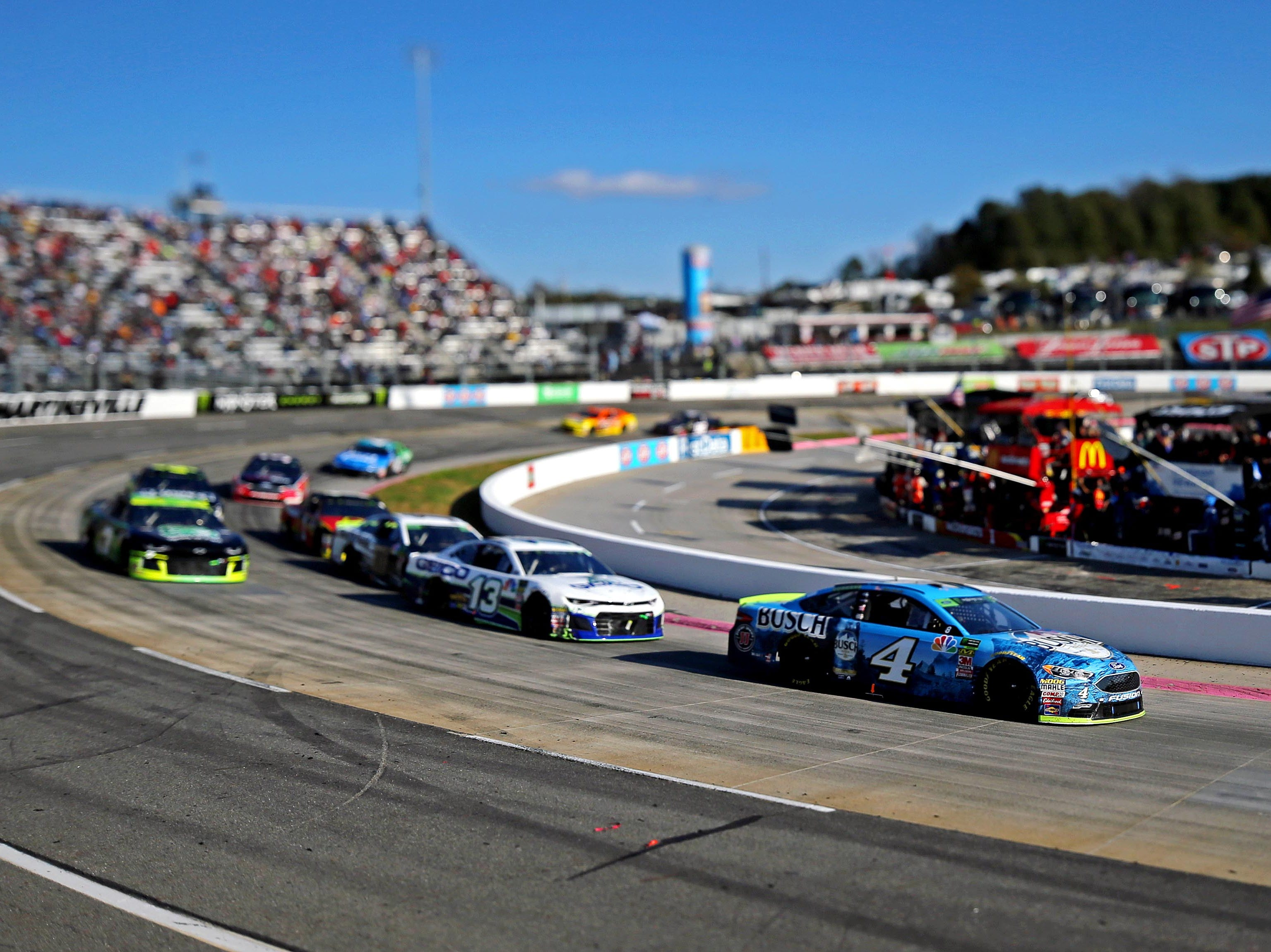 Oct. 27: First Data 500 at Martinsville Speedway (3 p.m., NBCSN).