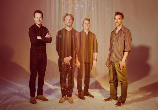 The members of Guster.