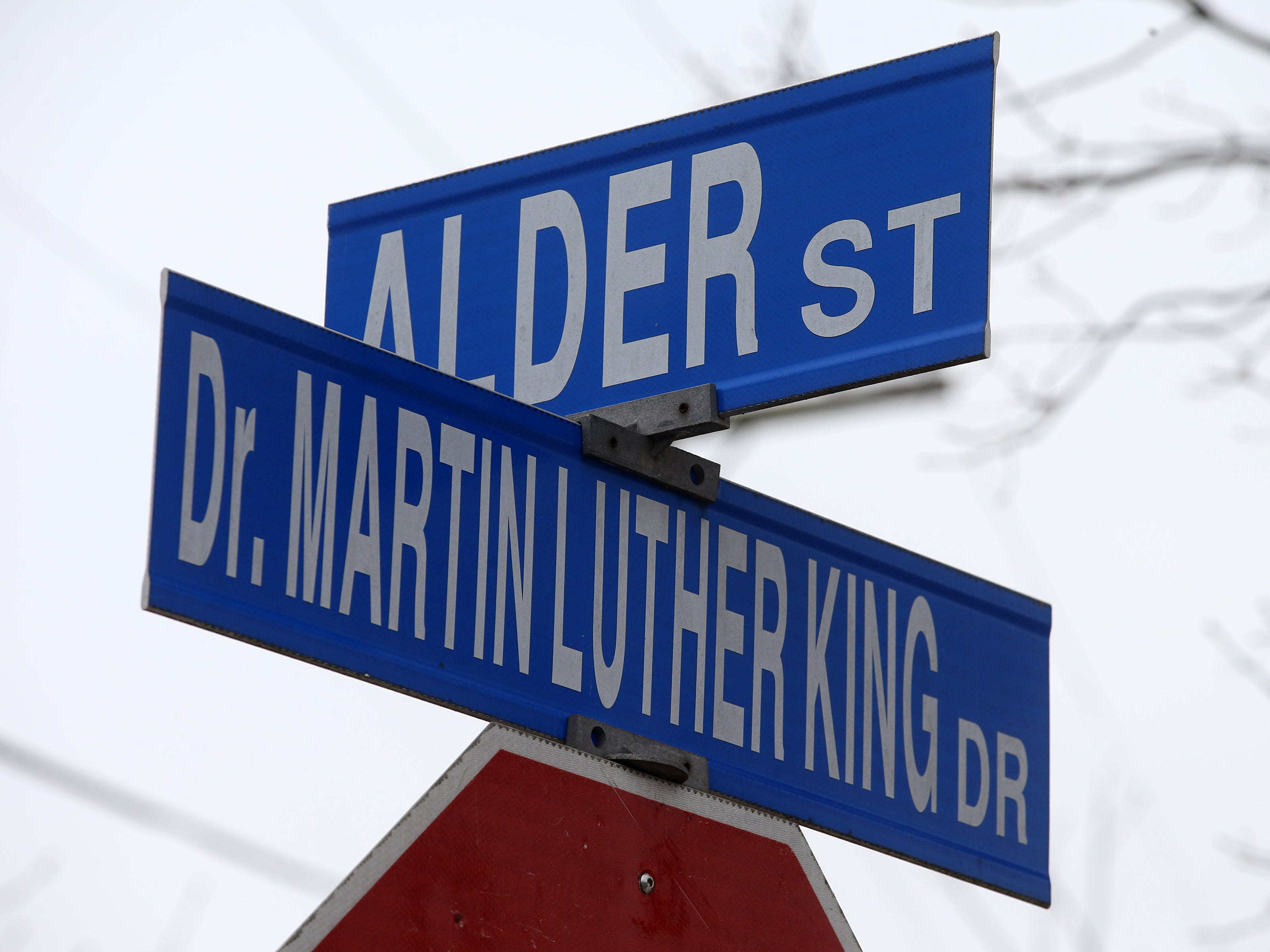 JoNancy Drummer of Lakewood describes how Lakewood and Dr. Martin Luther King Drive changed over the years in Lakewood, NJ Wednesday January 16, 2019. View of Dr. Martin Luther King Jr. Drive in Lakewood.