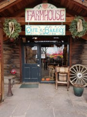 Grab breakfast at Farmhouse Cafe in Taos, which offers local and organic ingredients on the menu.
