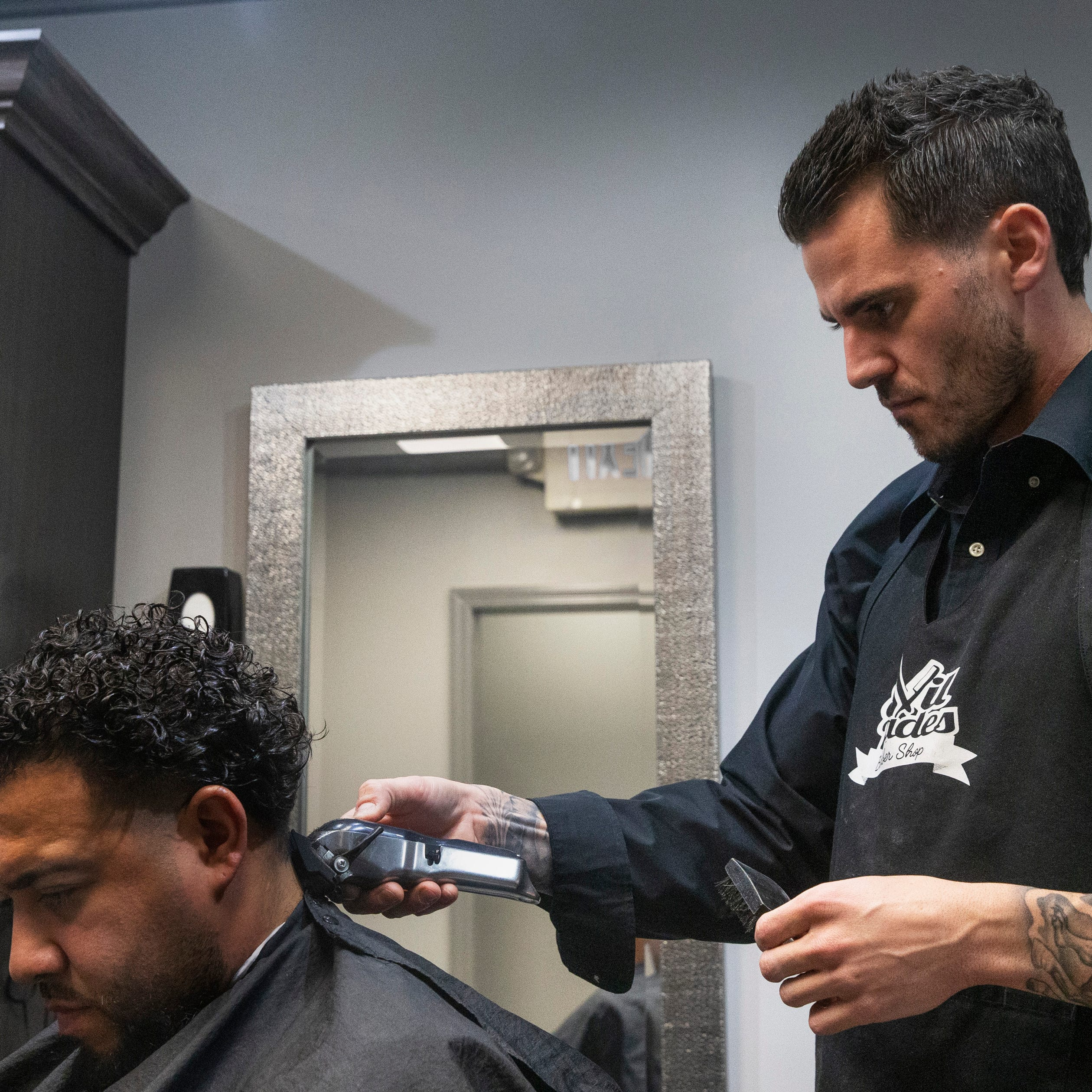 Evil Fades in Millstone, Red Bank is the result of barber's big dreams