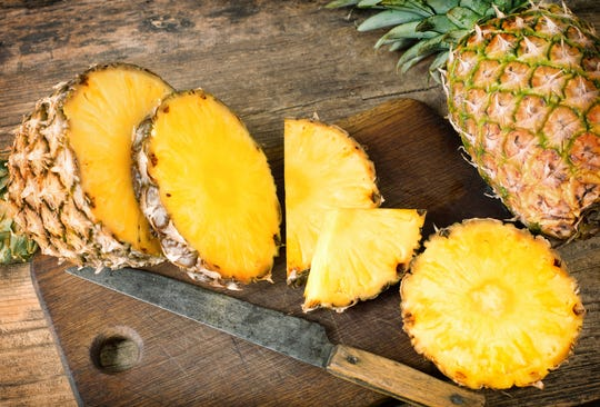 In addition to being a great source of vitamin C, pineapples contain bromelain, an enzyme proven to help arthritis pain by easing inflammation.