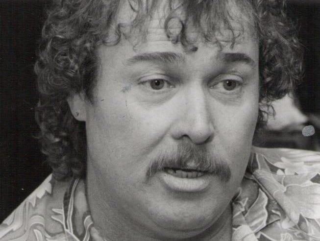 Buff Hackney on April 8, 1989.