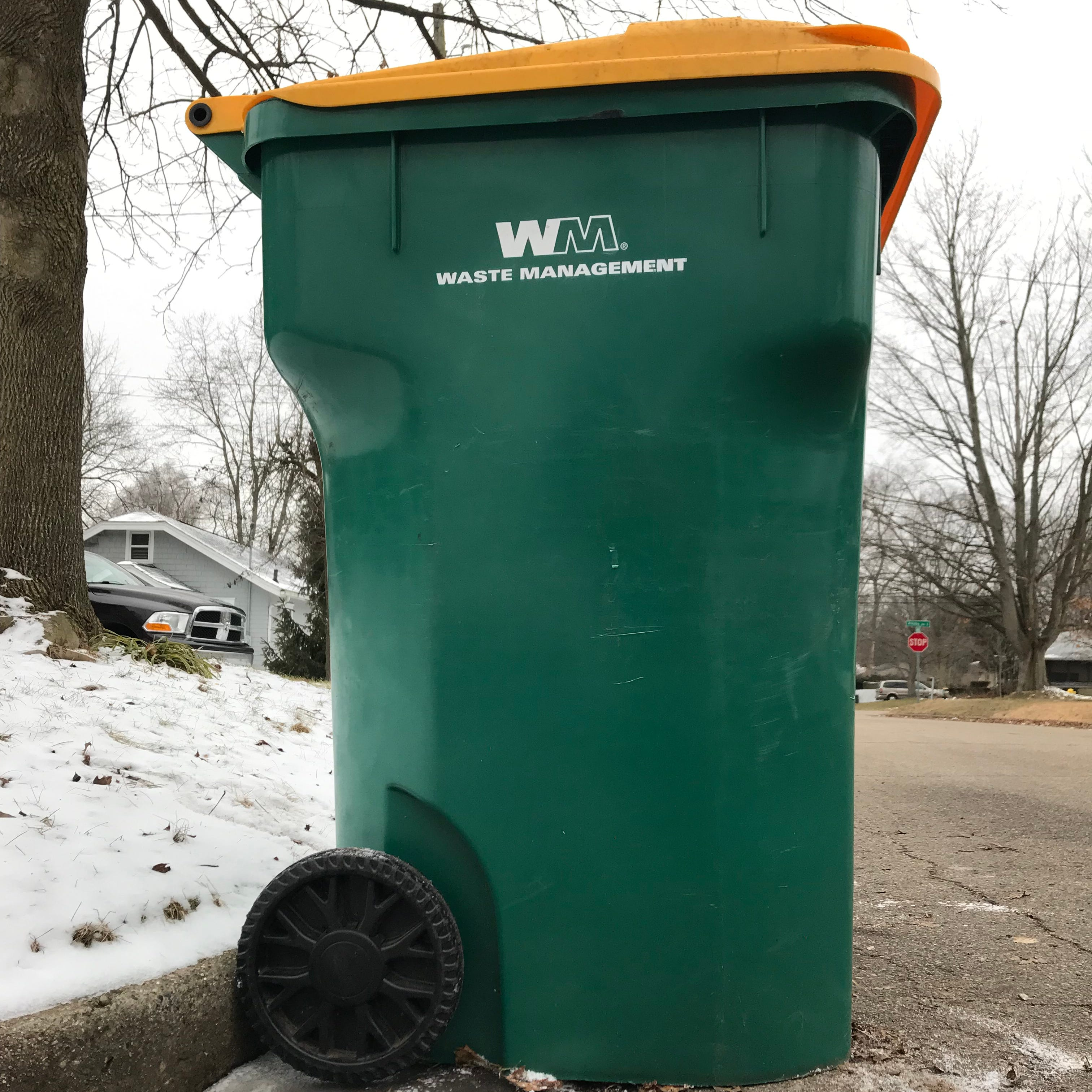 Recycling in Battle Creek will be picked up once every 2 weeks starting in April