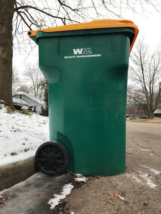 Since March, materials collected in recycling bins in some areas of Battle Creek have been diverted directly to the landfill.