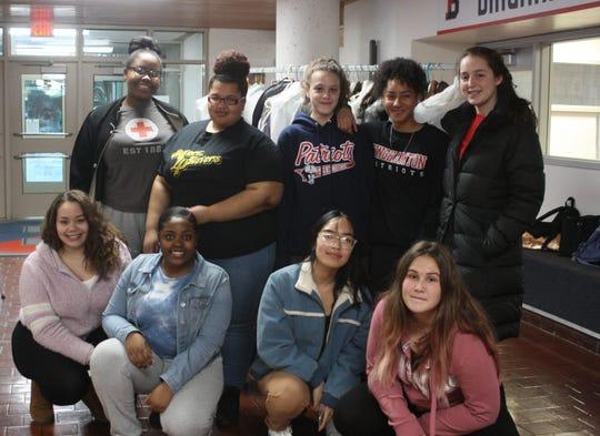 Sisterz 4 Sisters, a club at Binghamton High School, organized a prom dress drive on Jan. 16.