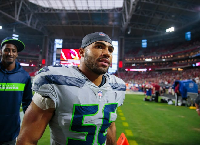 The Seahawks likely won't know until April whether linebacker Mychal Kendricks will be available for the 2019 season.