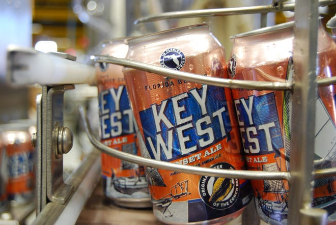Several Florida Beer Co. products soon will be available in cans at area retailers.