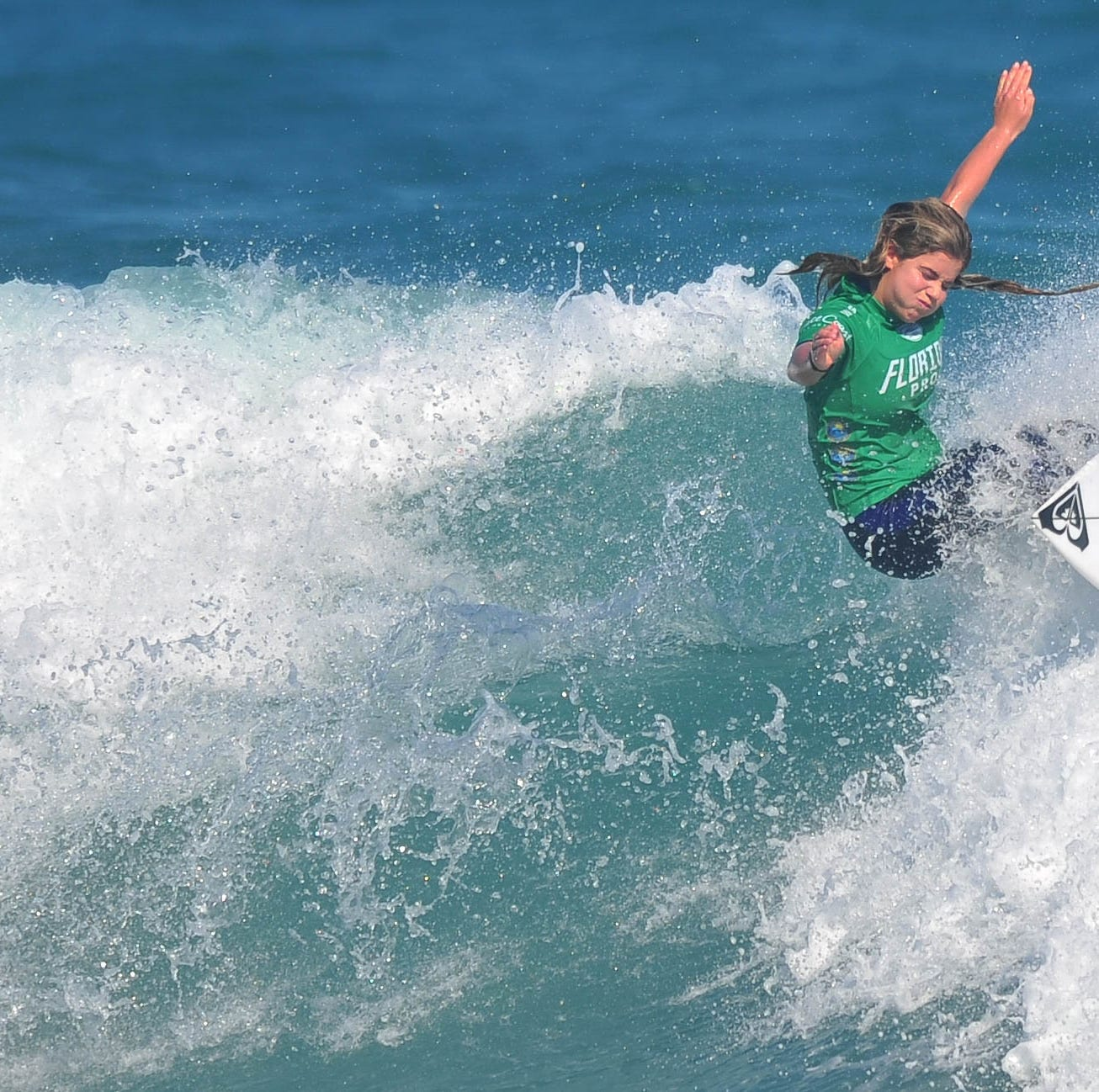 Marks enjoys 'phenomenal' day to reach Florida Pro surf semifinals