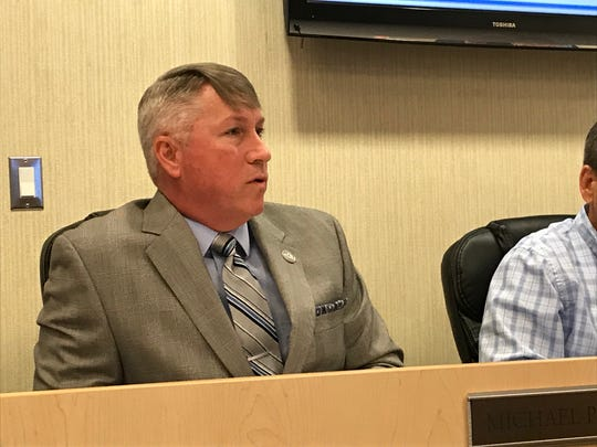 Titusville-Cocoa Airport Authority Chief Executive Officer Michael Powell came under criticism during Thursday's board meeting at Space Coast Regional Airport in Titusville.