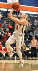 Galion's Teanna Greter headlines a very young Galion Lady Tiger girls basketball team in 2019-20.
