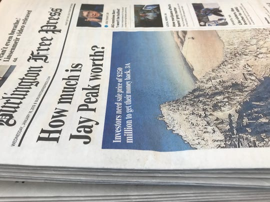 Reader note: Burlington Free Press subscribers get full