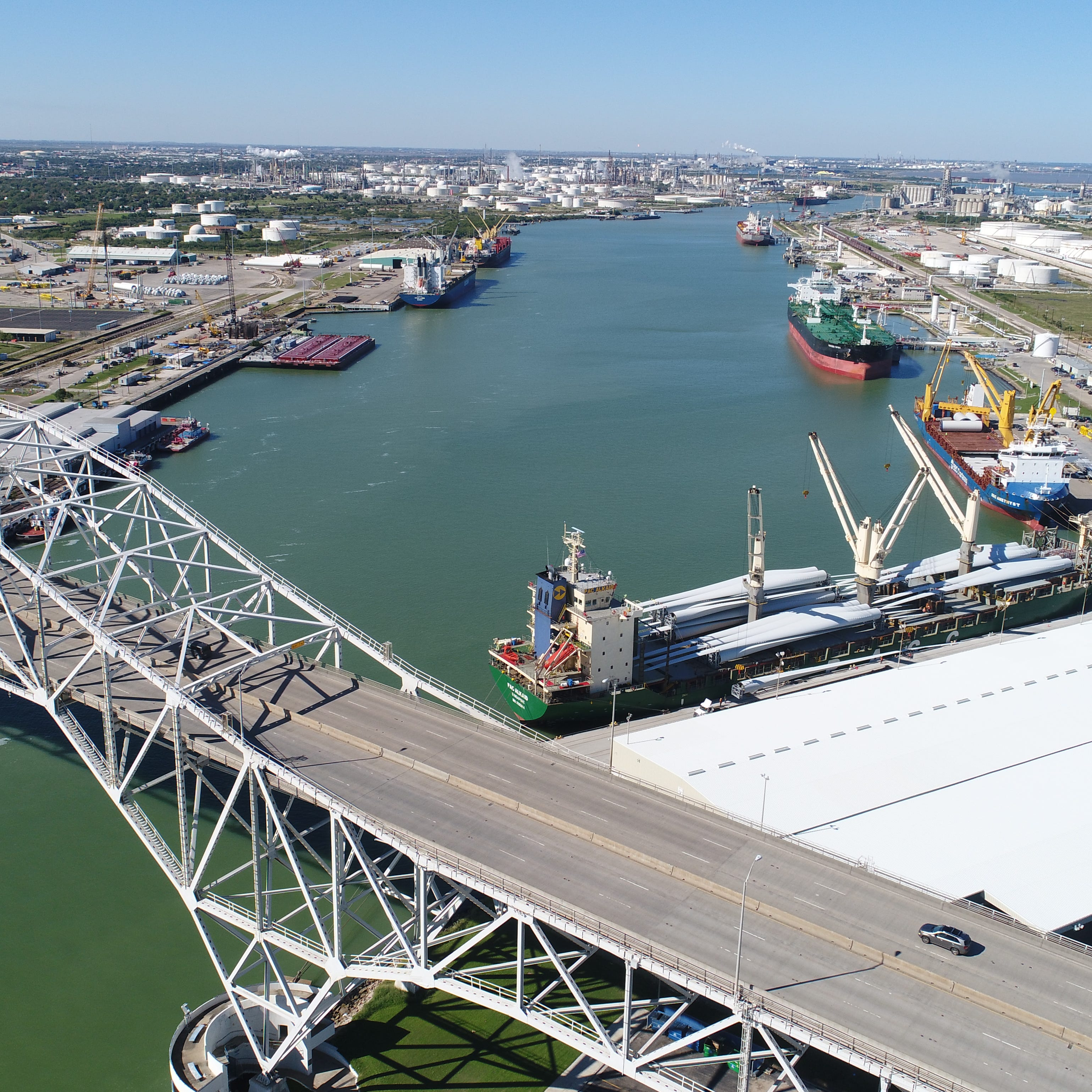 Here's how two counties can end their Port of Corpus Christi representation disagreement