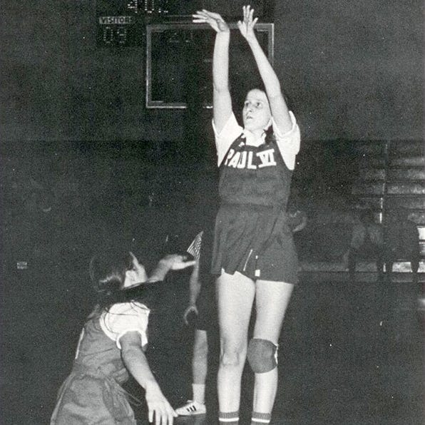 Paul VI grad Mary Scharff was a basketball legend as player, coach