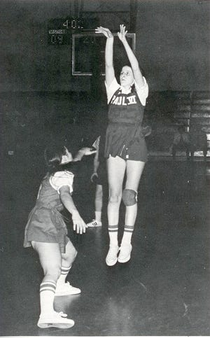 One of the best pure shooters in the game, Paul VI's Mary Scharff was the first 1,000-point scorer in South Jersey girls' basketball history.