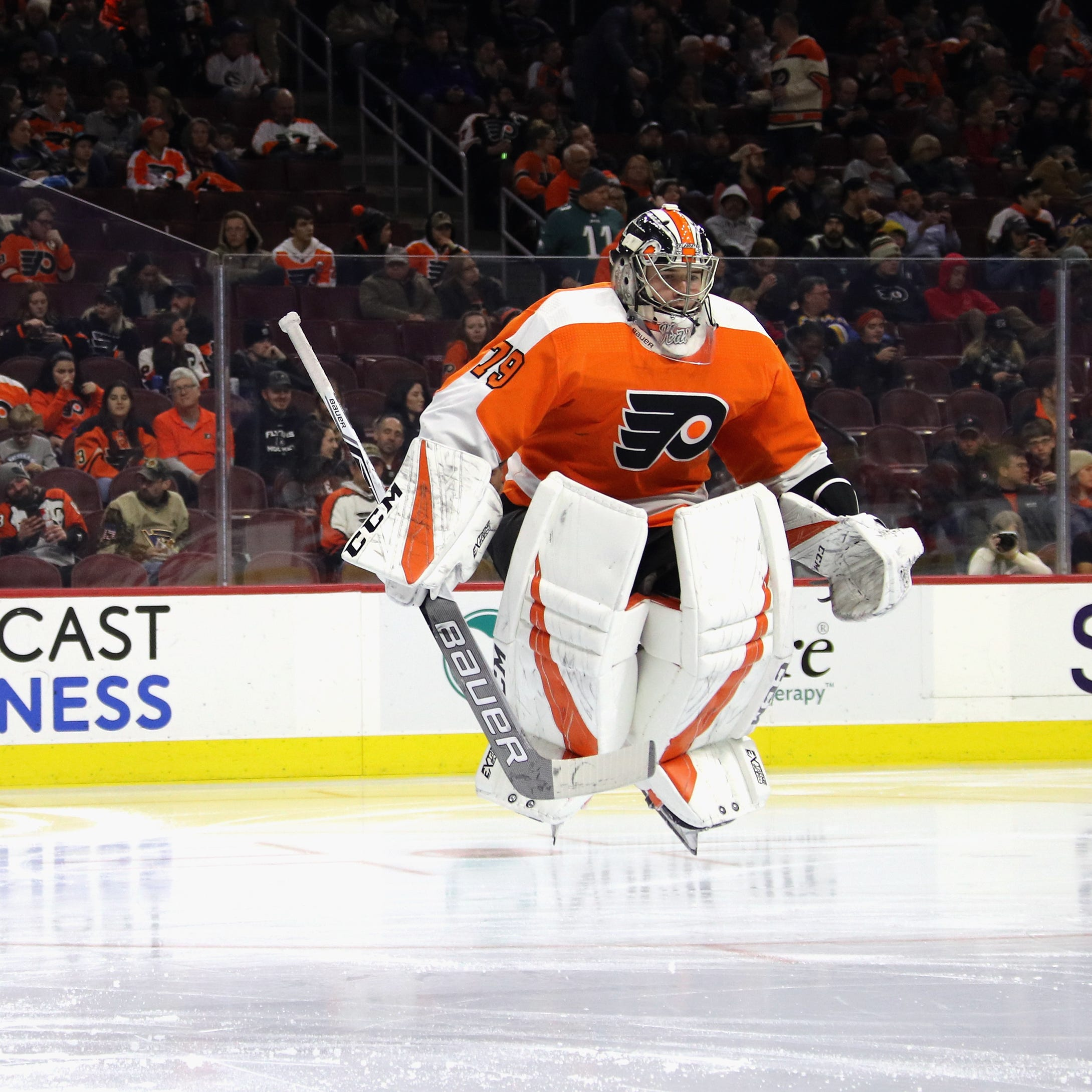 Carter Hart made the jump and his teammates want him to stay in the NHL
