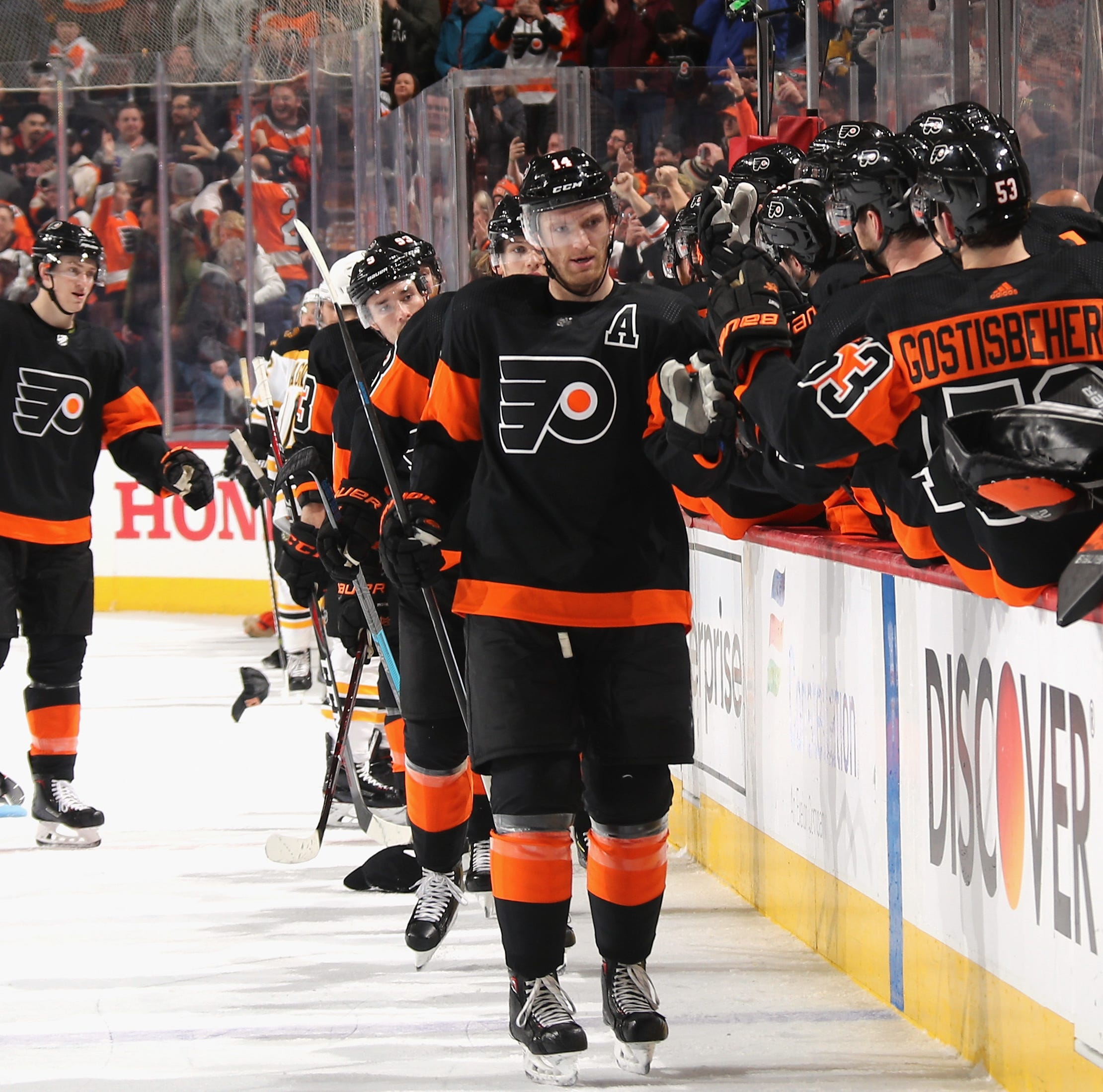 Flyers 5 takeaways: 'We're starting to show some character, some maturity'