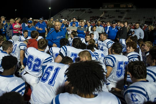 The Chillicothe Cavaliers defeat the Jackson Ironmen at Jackson High School on Friday, Oct. 27.