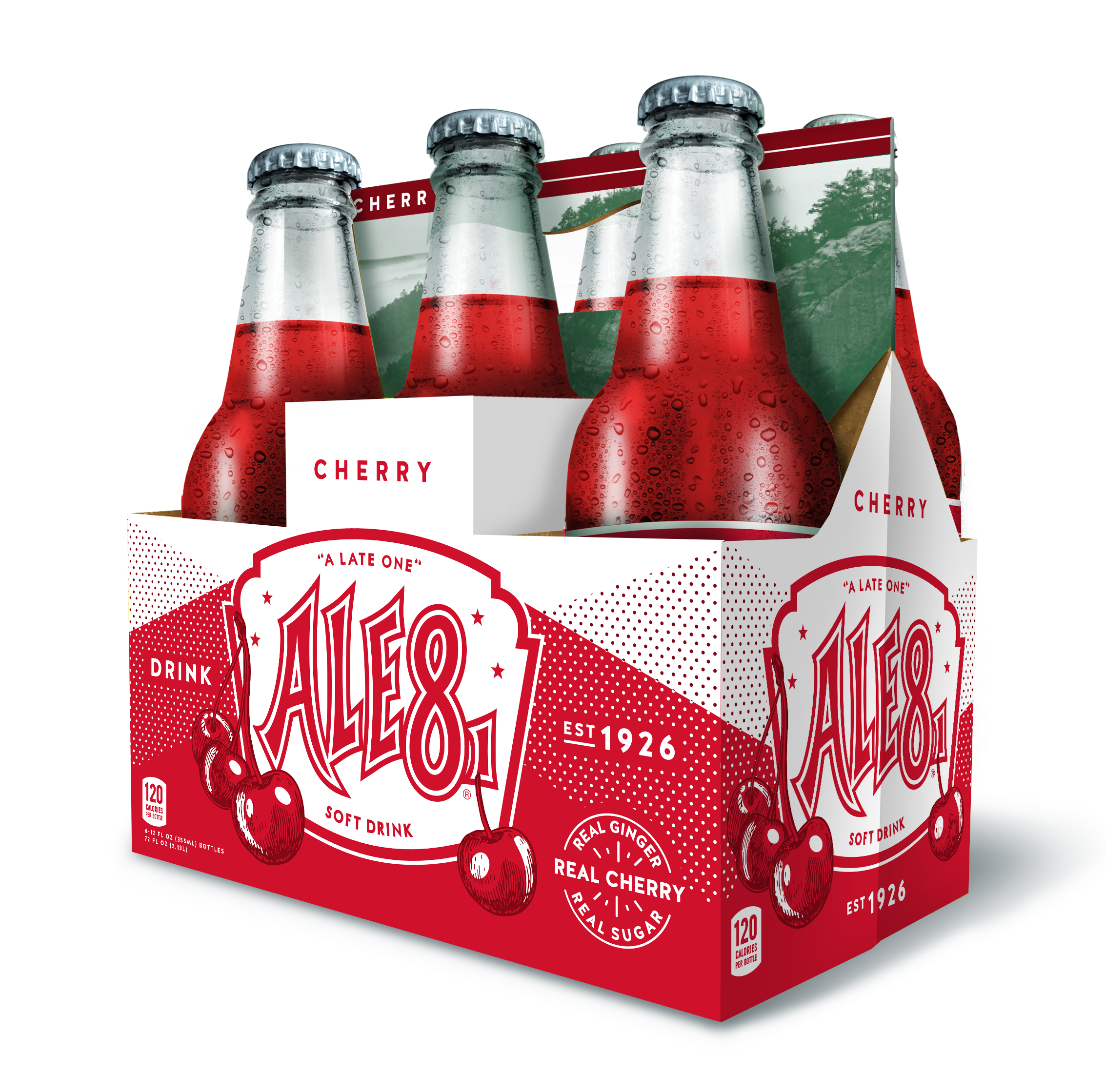 Ohio Krogers now carry the newest Cherry Ale-8-One soda