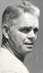 Coach Dick Kerin, as photographed in 1968