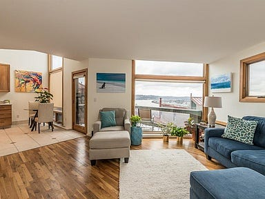 Johnny Bench's former condo in Mount Adams has been listed for nearly $390K. Photos provided by Realtor Andy Geiger and Photographer Mackenzie Frank