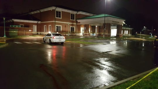 Clarksville police are investigating a death after a man was found lying on the ground outside the Montgomery County Health Department building early Thursday, Jan. 17, 2019