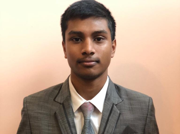 Akshat Parthiban won third place in the Congressional debate.