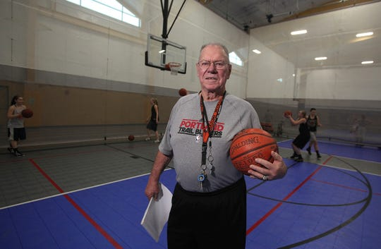 Gene Klinge, seen in a 2013 file photo, is the winningest girls basketball coach in Iowa history died Wednesday, Jan. 16, 2019. He was 82.