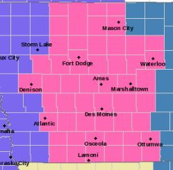 Iowa braces for statewide winter storm expected to challenge Friday commutes