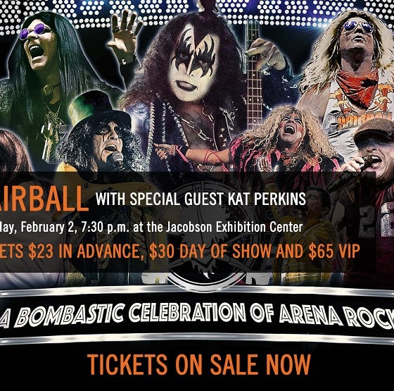 Win four tickets to Hairball featuring Kat Perkins