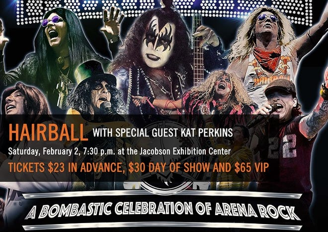 Hairball concert giveaway